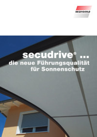 WAREMA SecuDrive-Markisen